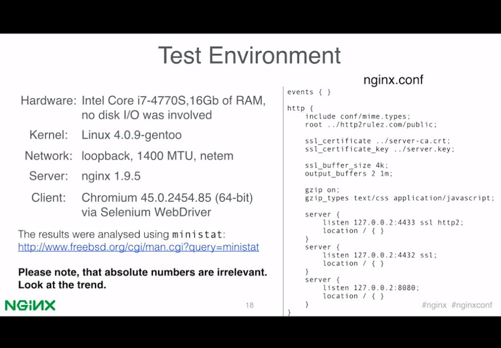 Slide 9 - Test Environment
