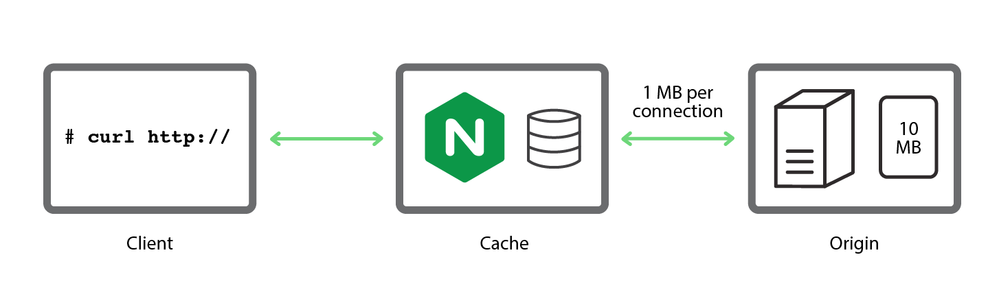 A simple, reproducible test bed used to investigate NGINX caching strategies