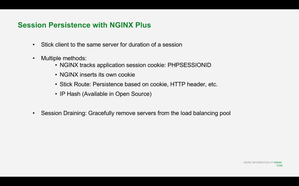 Slide 15 - Session Persistence