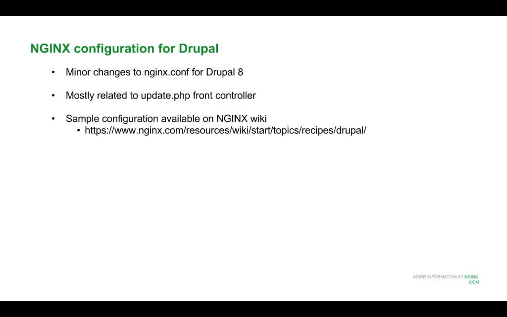 Slide 5 - NGINX Config