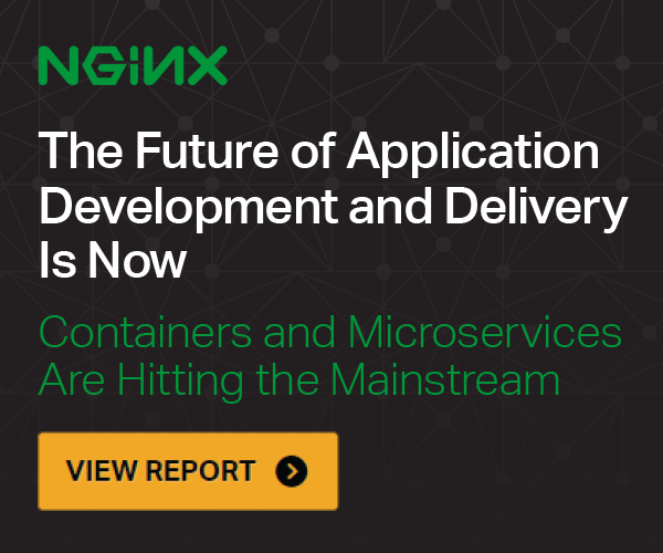 View Report - The Future of Application Development and Delivery Is Now; Containers and Microservices Are Hitting the Mainstream