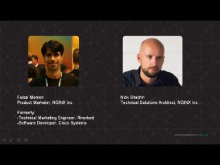 Webinar presenters Faisal Memon and Nick Shadrin work for NGINX, Inc.