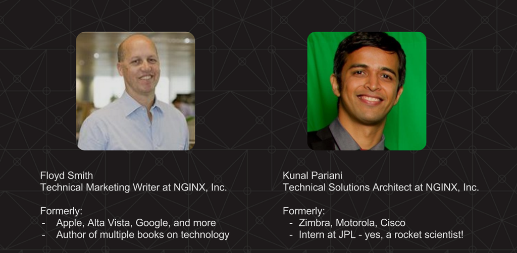 Floyd Smith and Kunal Pariani of NGINX, Inc. discuss DevOps automation in this webinar, including service discovery and how to upgrade software and deploy NGINX and other apps with DevOps tools